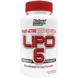 Nutrex Lipo 6 Maximum Strength 120 Liqui-Caps F