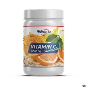 Витамин C Geneticlab Vitamin C 60 пастилок Orange