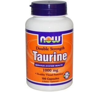 Taurine 500 mg 100 капс