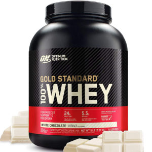 Optimum Nutrition 100 % Whey protein Gold standard 2270 г