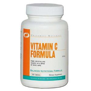 Universal Nutrition Vitamin C Buffered 100 таб