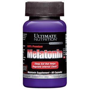 Ultimate Nutrition Melatonin 3 mg 60 капс