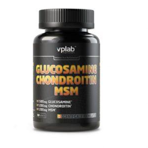 VP Laboratory Glucosamine&Chondroitin&MSM 90 таб