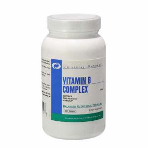 Universal Nutrition Vitamin B Complex 100 таб