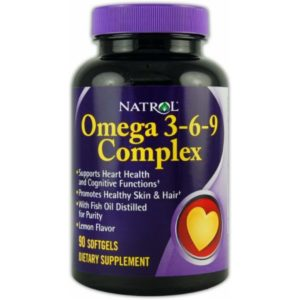 NATROL OMEGA 3-6-9 COMPLEX 60 КАПС
