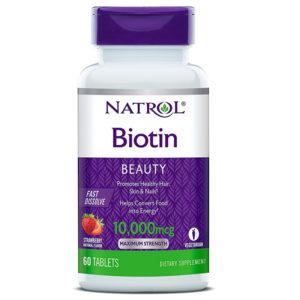 Natrol Biotin 10000 mcg 60 таб