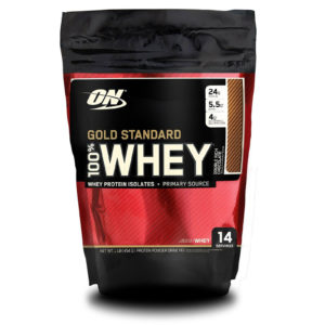 Optimum Nutrition 100 % Whey protein Gold standard 454 г Double Rich