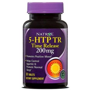 Natrol 5-HTP TR 200 mg 30 таб