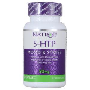 Natrol 5-HTP 50 mg 30 капс