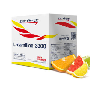 Be First L-carnitine 3300 (20 амп Х 25 мл)