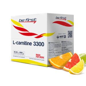 Be First L-carnitine 3300 (20 амп Х 25 мл)