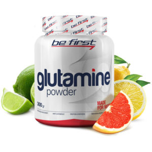 Be First Glutamine powder 300 г