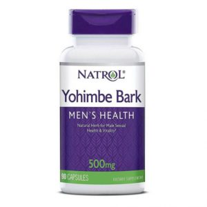 Natrol Yohimbe Bark 500 mg 90 капс