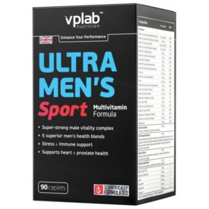 VP Laboratory Ultra Men's Sport Multivitamin Formula 180 капс