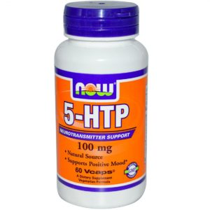 NOW 5-HTP 100 mg 60 vcaps