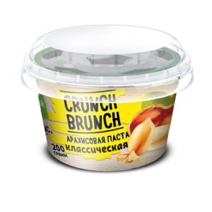 Crunch-Brunch Арахисовая паста 200 г классическая