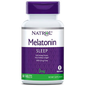 Natrol Melatonin 3 mg 60 таб