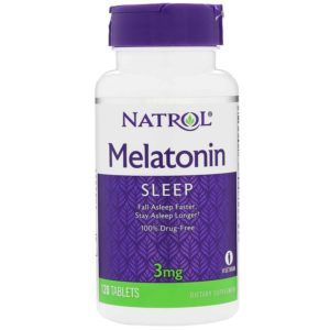 Natrol Melatonin 3 mg 120 таб