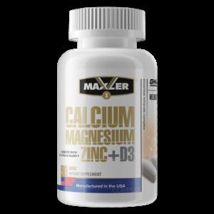 Maxler Calcium Zinc Magnesium+D3 90 таб