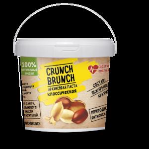 Crunch-Brunch Арахисовая паста классическая