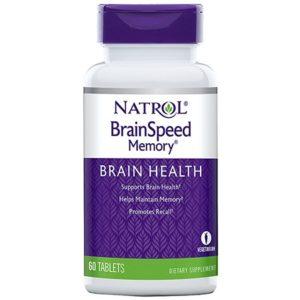 Natrol BrainSpeedTM Memory 60 таб