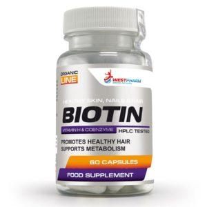 WestPharm Biotin 60 caps