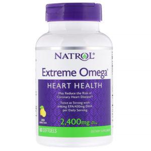 Natrol Extreme Omega 2400 mg 60 капс
