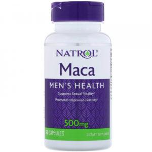 Natrol Maca 500 mg 60 капс