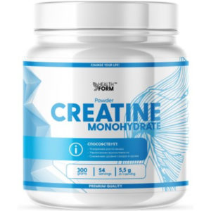 health form creatine monohydrate