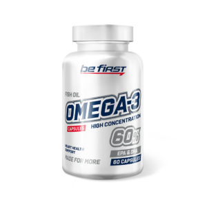 Be First Omega-3 60% HIGH CONCENTRATION 60 гелевых кап