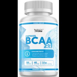 health form bcaa 120 капсул