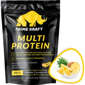 Prime Kraft MULTI PROTEIN (напиток сухой ДС) 900 г Ананасовый йогурт