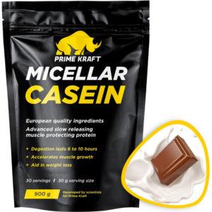 Prime Kraft MICELLAR CASEIN (спец. пищевой продукт СГР) 900 г Молочный шоколад